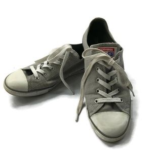 🍌Converse All Star Sneakers Size 9 Canvas Grey
